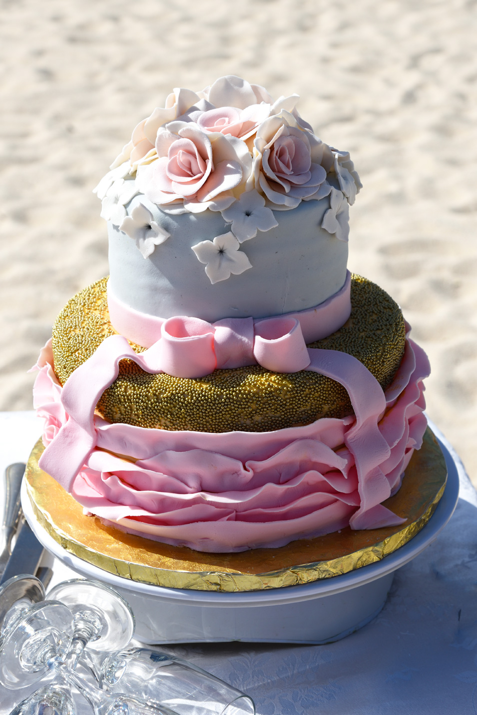 Aruba wedding cakes DWA
